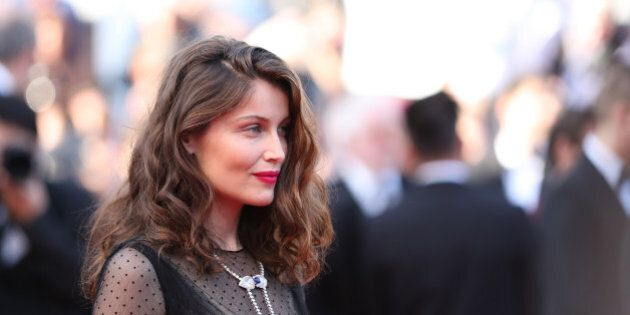 CANNES, FRANCE - MAY 23: Laetitia Casta attends the 70th Anniversary of the 70th annual Cannes Film Festival...
