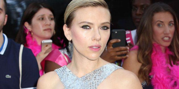 Scarlett Johansson attends the premiere