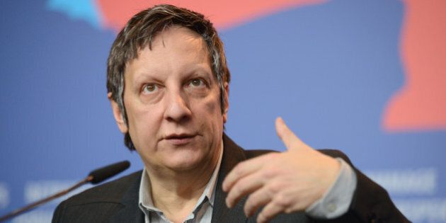 BERLIN, GERMANY - FEBRUARY 14: Director Robert Lepage attends the 'Triptych' (Triptyque) press conference...