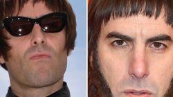Liam Gallagher pris pour un personnage de Sacha Baron Cohen à