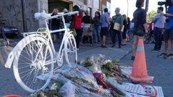 Un vélo fantôme à la mémoire de Justine Charland