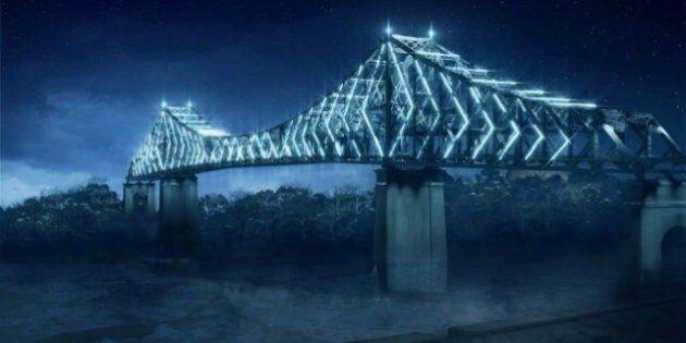 Reprise du spectacle d'illumination du pont Jacques-Cartier le 25 juin à