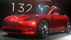 Tesla Model 3: un manque à gagner de trois