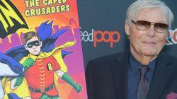 L'acteur Adam West, qui incarnait Batman à la télévision, est