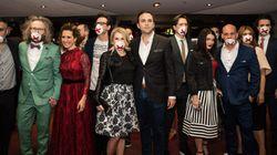 Gala Les Olivier: tapis rouge aux allures de bal masqué