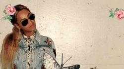 Beyoncé et Blue Ivy parfaitement stylées en blousons