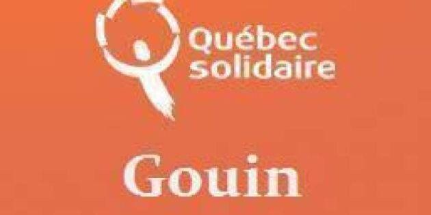 L'investiture de Québec solidaire dans Gouin aura lieu le 26