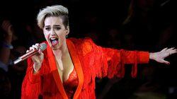 Katy Perry en spectacle à Québec en