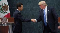 Trump réplique: «le Mexique paiera le mur, à 100%»