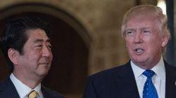 Shinzo Abe et Donald Trump condamnent le tir de missiles de la Corée du