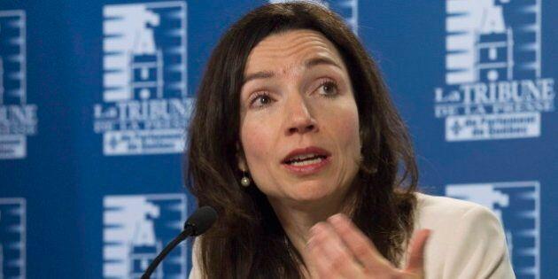 Crise au Bloc québécois: Martine Ouellet boude la réunion du