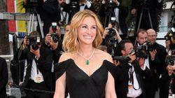 Festival de Cannes 2016: le premier tapis rouge de Julia Roberts à Cannes et pieds nus