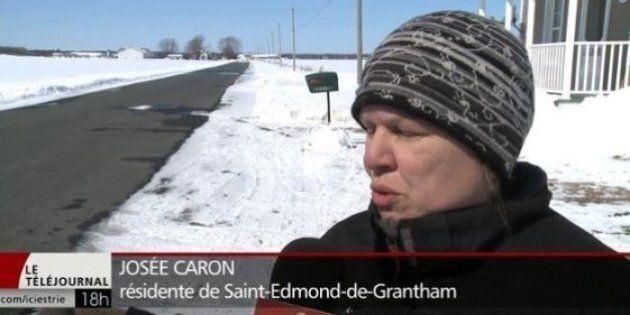 Une résidente de Saint-Edmond-de-Grantham a craint le pire dans la