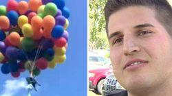 26 000 $ d'amende pour l'homme qui s'est envolé avec des ballons