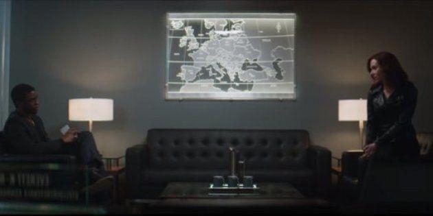 Une scène coupée de «Captain America: Civil War» montre un échange tendu entre Black Panther et Black...
