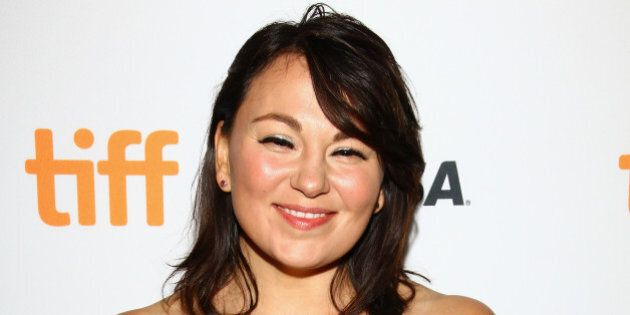 TORONTO, ON - SEPTEMBER 12: Composer Tanya Tagaq attends the 'Maliglutit (Searchers)' premiere held at...