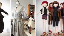 Ces poupées québécoises sont joliment habillées par nos créateurs d'ici: