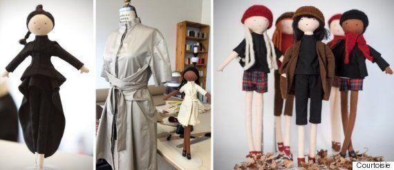Ces poupées québécoises sont joliment habillées par nos créateurs d'ici: chic!