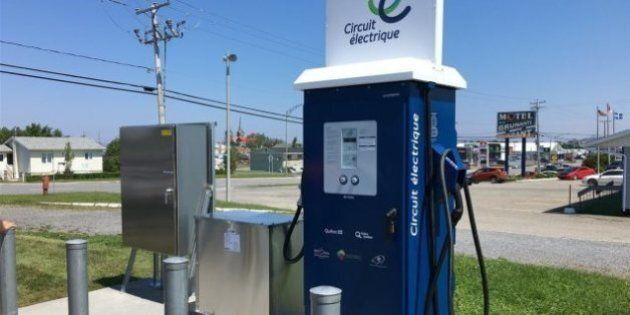 Nombreuses pannes dans le réseau de bornes de recharge de voitures