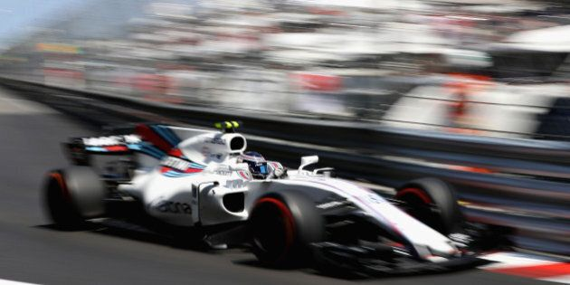 MONTE-CARLO, MONACO - MAY 28: Lance Stroll of Canada driving the (18) Williams Martini Racing Williams...