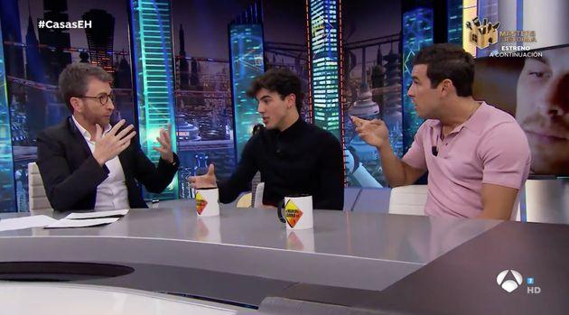 Pablo Motos pregunta a Mario Casas en 'El Hormiguero' (Antena 3) por el tamaño de sus