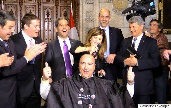 Défi têtes rasées de Leucan : le député conservateur Bernard Généreux espère amasser 1000$