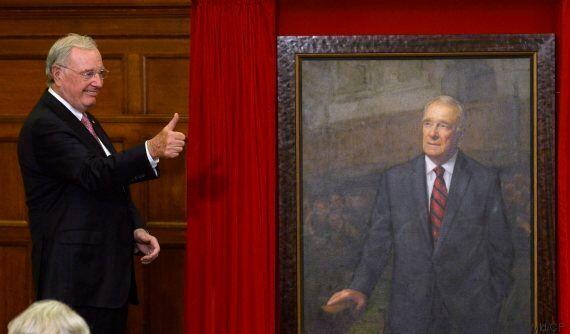 Le portrait officiel de Paul Martin est dévoilé