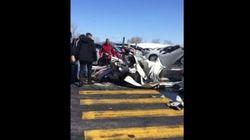 Collision entre deux petits avions au-dessus des Promenades