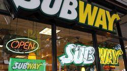 Subway réclame des millions à CBC pour son reportage sur le faux
