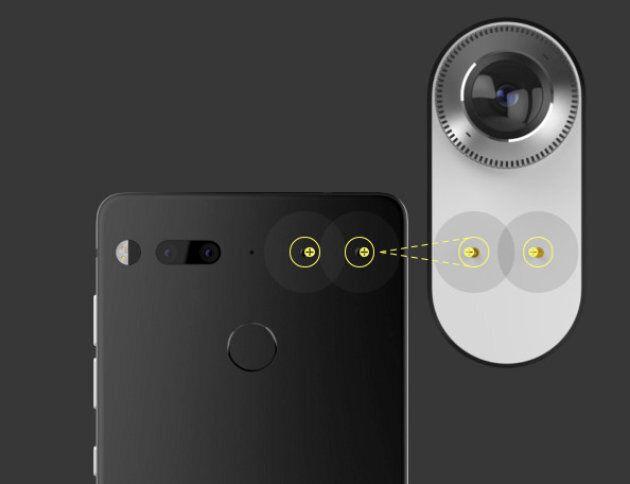 Essential Phone, un téléphone en titane lancé par le fondateur d'Android