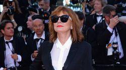 Cannes 2016: Susan Sarandon à contre-pied des codes vestimentaires du tapis rouge