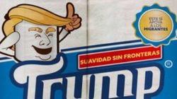 S'essuyer avec ce papier de toilette Trump aide les migrants