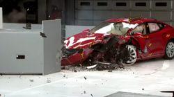 Tests de sécurité: la Tesla Model S n'obtient aucune mention de
