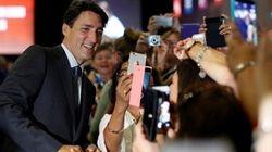 Trudeau interagit avec les Chinois sur les réseaux