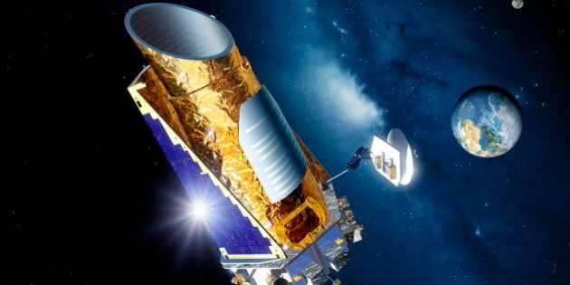 Kepler telescope in
