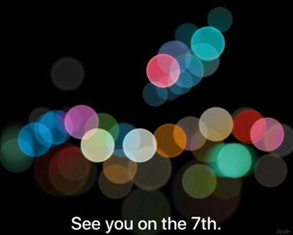 La date de présentation de l'iPhone 7 est officielle et les fans croient y voir un message