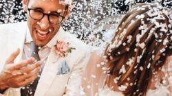 Agyness Deyn se marie dans une robe