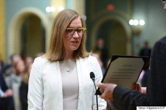 May accuse Trudeau de sacrifier sa nouvelle ministre des Institutions démocratiques