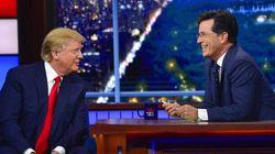 Stephen Colbert répond avec joie aux insultes de Donald