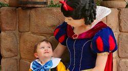 Cet adorable enfant autiste a pu jouer les princes charmants