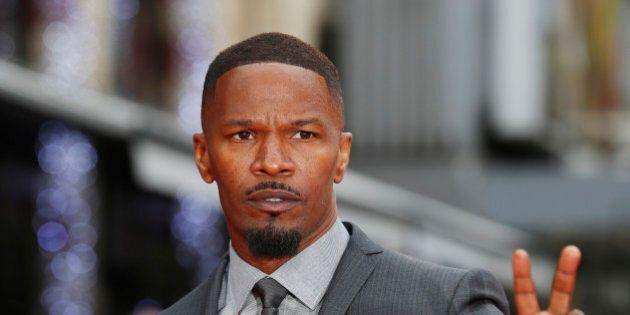 Actor Jamie Foxx arrives at the world premiere of The Amazing Spiderman 2 in central London, April 10,...