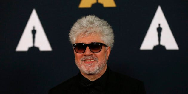 Director Pedro Almodovar arrives at the 8th Annual Governors Awards in Los Angeles, California, U.S.,...
