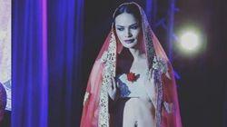 Une mannequin transgenre à une Semaine de mode en Inde, une