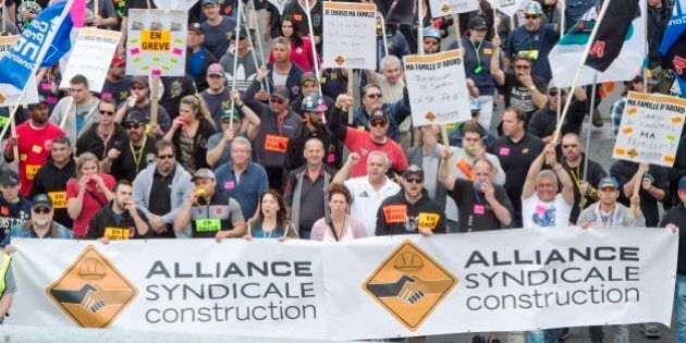 Construction: l'Alliance syndicale rompt les