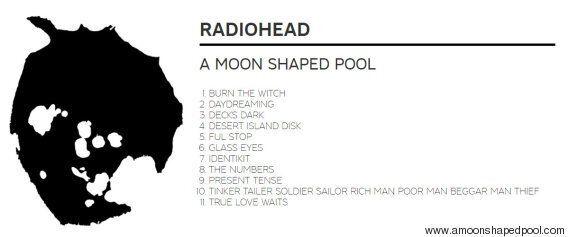 Radiohead revient sur ses racines rock dans un nouvel album intimiste «A Moon Shaped