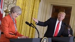Trump reçoit Theresa May à la