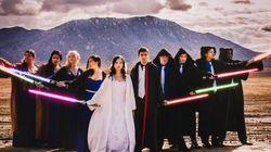 Mariage «Star Wars»: la Force est avec ces nouveaux