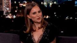 Natalie Portman ne comprend vraiment pas les