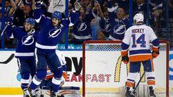 Le Lightning élimine les Islanders