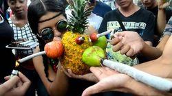 Voilà à quoi ressemble une manif pour la légalisation du cannabis en Colombie